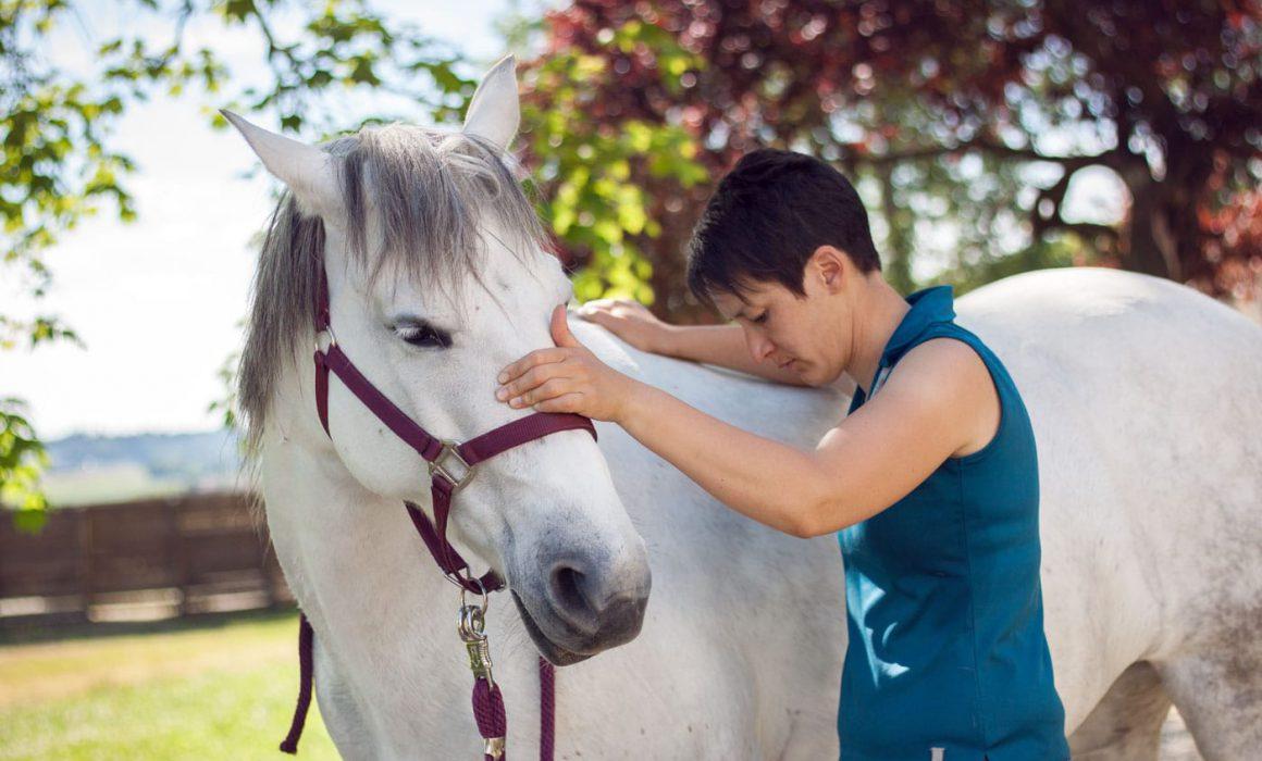 Minh Tâm Franck Ostéopathe chevaux