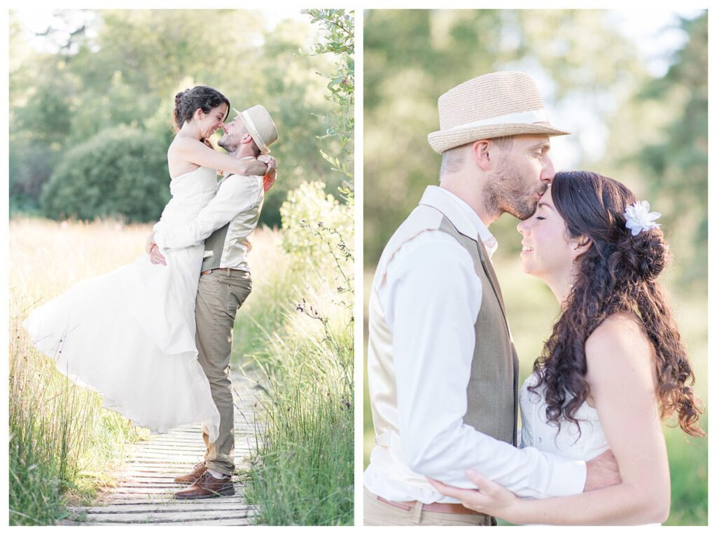 Photographe mariage dordogne couple