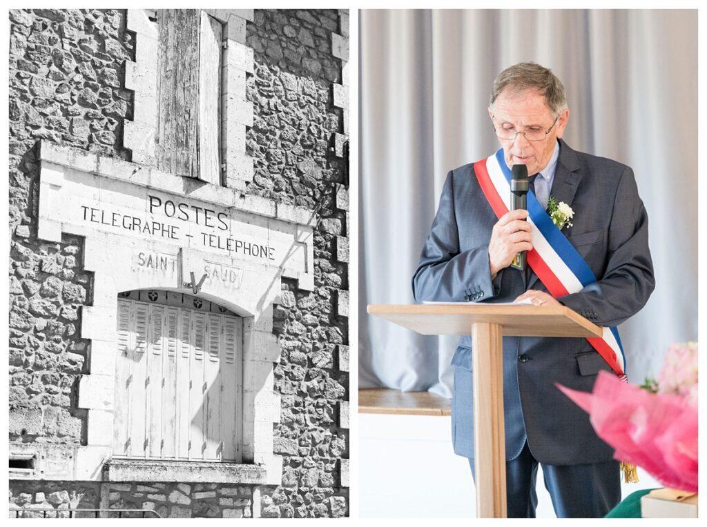 Le maire de Saint Saud Lacoussière