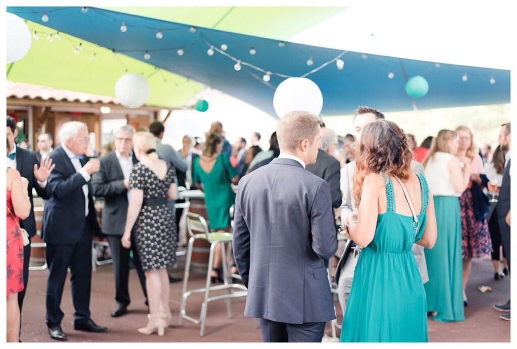 cocktail mariage turquoise bleu