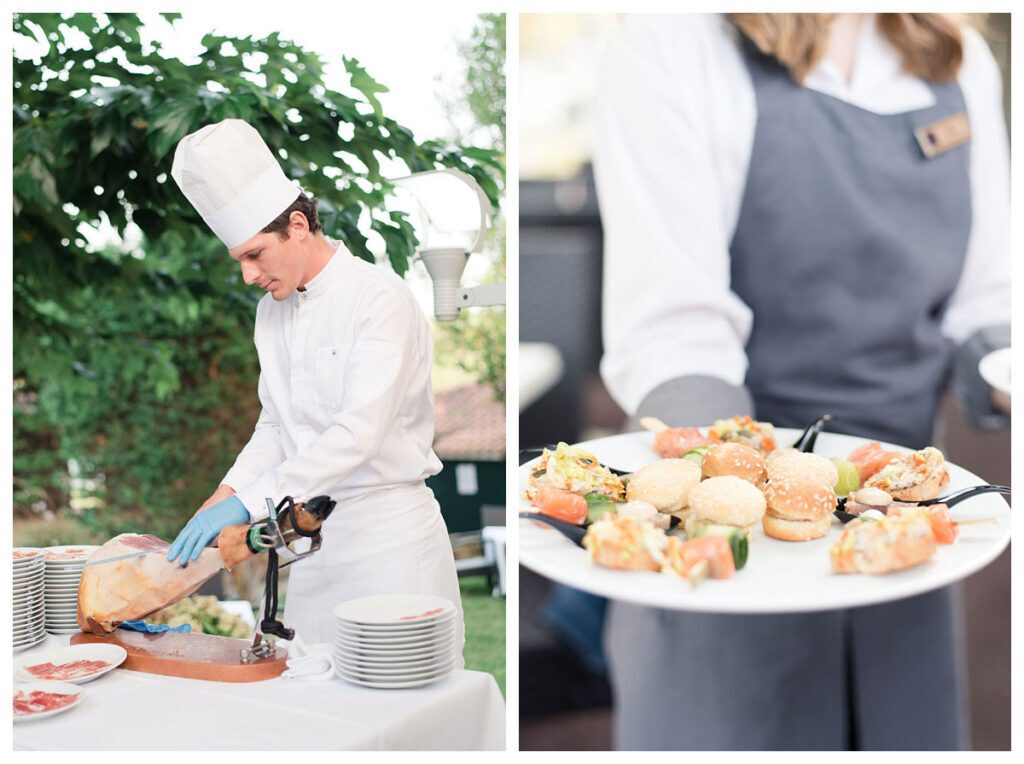 cocktail mariage chef
