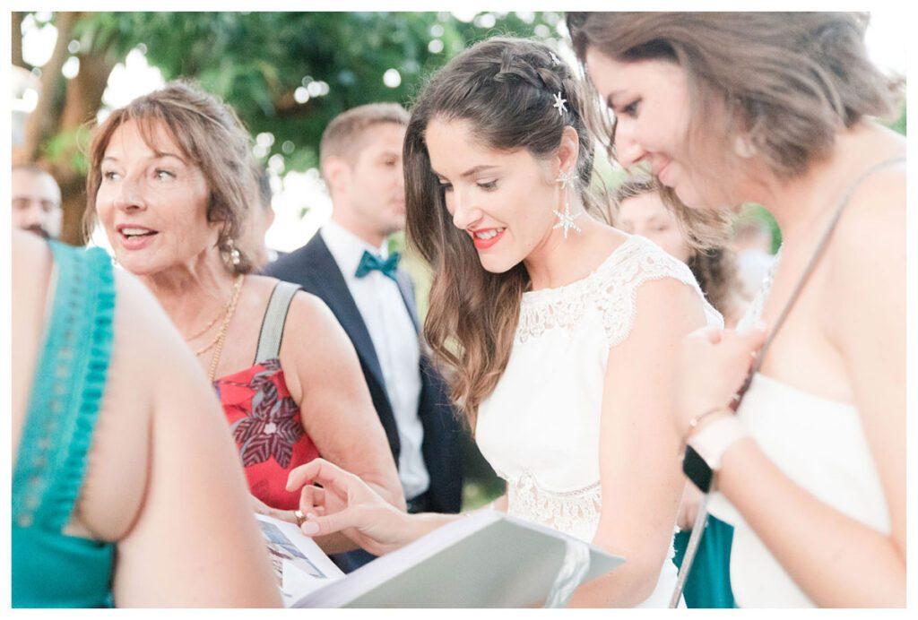 mariée invités