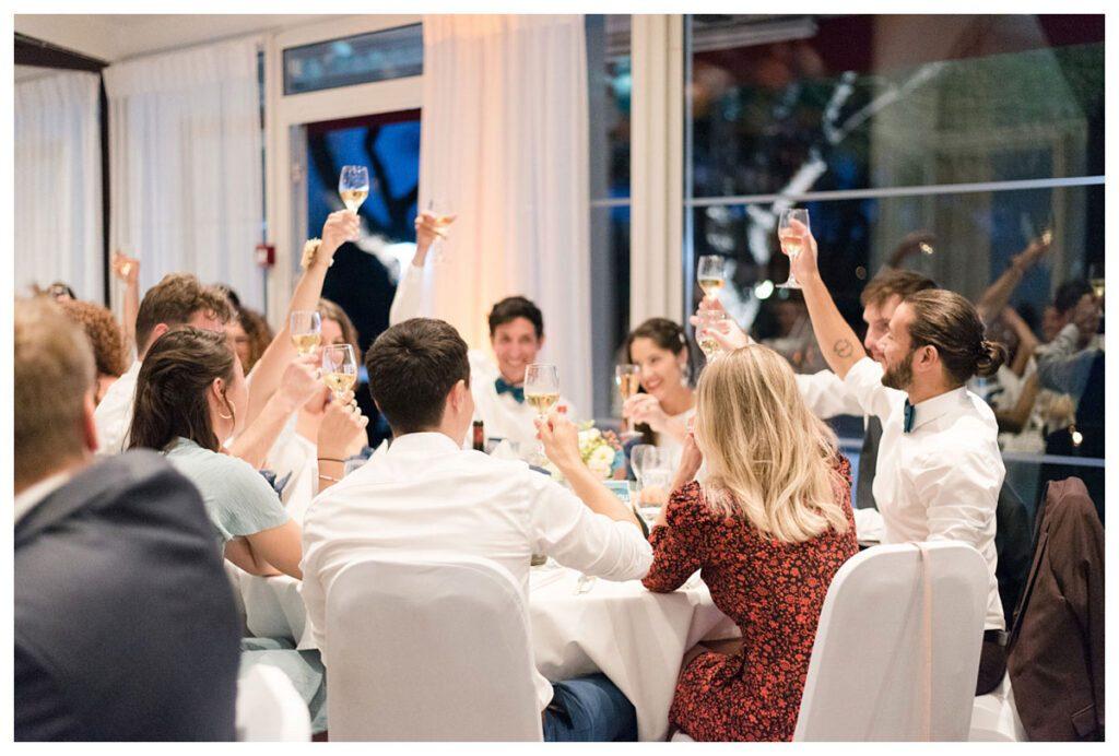 soirée repas mariage