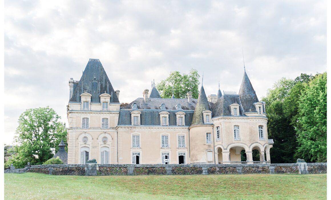 Le château du Repaire à Vigeois en Corrèze