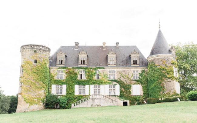 Château de réception pour un mariage